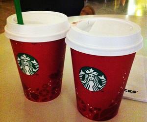 adorable, christmas, and drink image