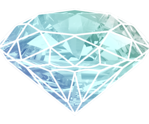 diamond and blue image