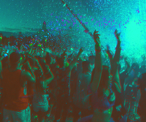 blue, party, and ultra festival image