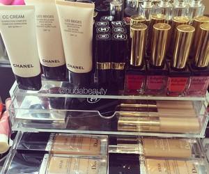 chanel, dior, and makeup image