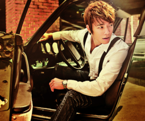 car, gentleman, and donghae image