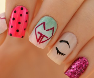 nails, girls generation, and gg image
