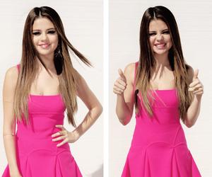 selena gomez, pink, and gomez image