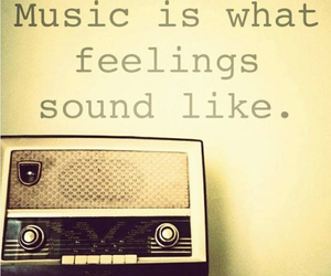 feelings, music, and sound image