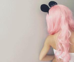 mickey and hair color image