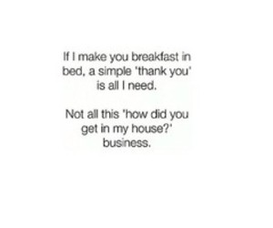 breakfast, funny, and girl image