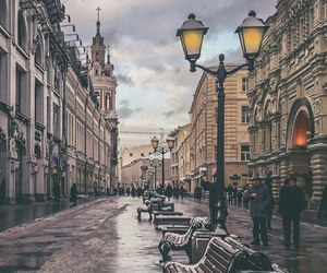 moscow, russia, and street image