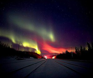 nature, aurora boreal, and beautiful image