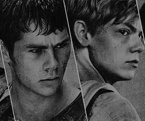 KAYA SCODELARIO, newt, and thomas brodie sangster image