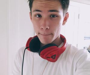 carter reynolds, magcon, and boy image