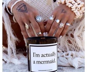 mermaid, rings, and gypsy image