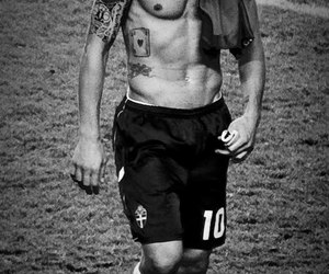 shirtless, Tattoos, and zlatan ibrahimovic image