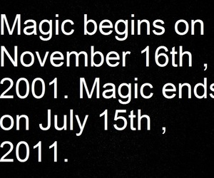 harry potter, text, and magic image