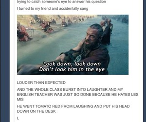 funny, teacher, and les mis image