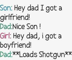 funny, girl, and son image