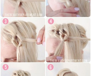 diy, hair, and pretty image
