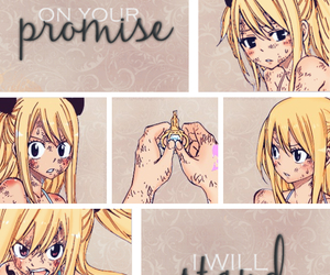 hurt, fairy tail, and always smile image