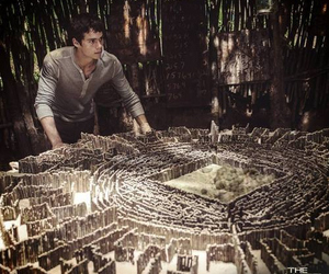maze runner, dylan o'brien, and thomas image