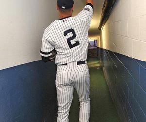 yankees, derek jeter, and baseball image