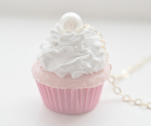 cup cake, sweet, and fashion image