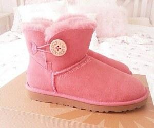 pink, uggs, and girl image