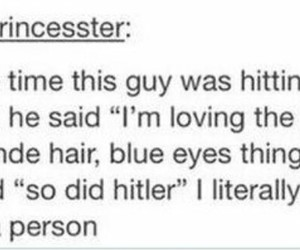 funny, hitler, and tumblr image