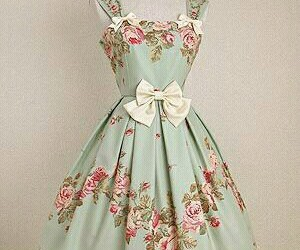 vintage and dress image