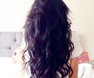 hair, hairstyle, and black image