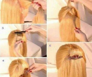 blond, girl, and style image