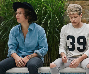 four, niall horan, and Harry Styles image