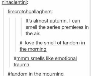 autumn, doctor who, and feels image