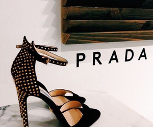 heels, studded, and studded shoes image