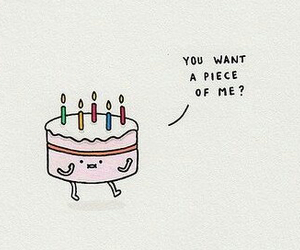 cake, funny, and cute image