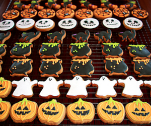 Halloween, Cookies, and food image