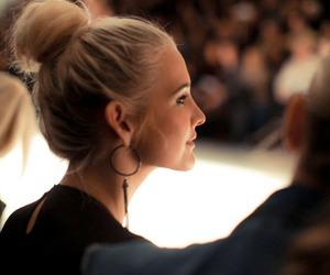blond, camera, and fashion image