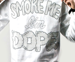 smoke, boy, and dope image