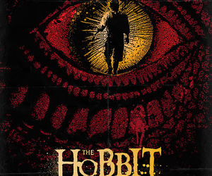the hobbit, movie, and poster image