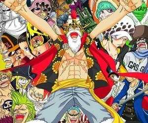 anime, one piece, and dressrosa image