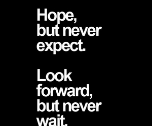 quotes, hope, and wait image