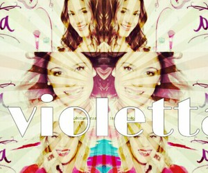 sweet, disney channel, and violetta image