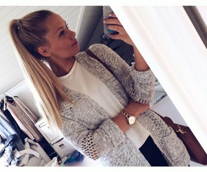 blonde and fashion image