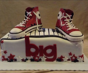 cake and converse image