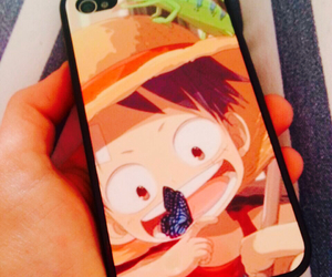 kawaii, one piece, and iphone case image