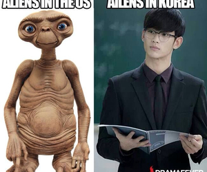 alien, korea, and kim soo hyun image