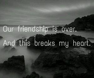 broken, heart, and friends image