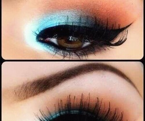beautiful, colorfull, and make up image