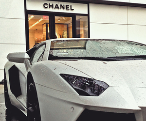 car, chanel, and white image