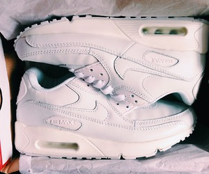 white, air max, and fashion image