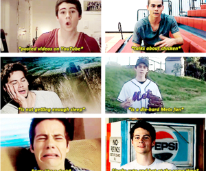 dylan o'brien and quotes image