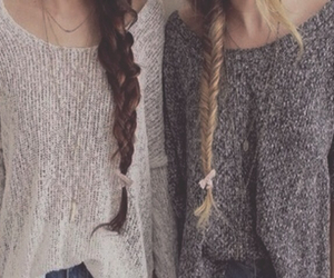 hair and best friends image